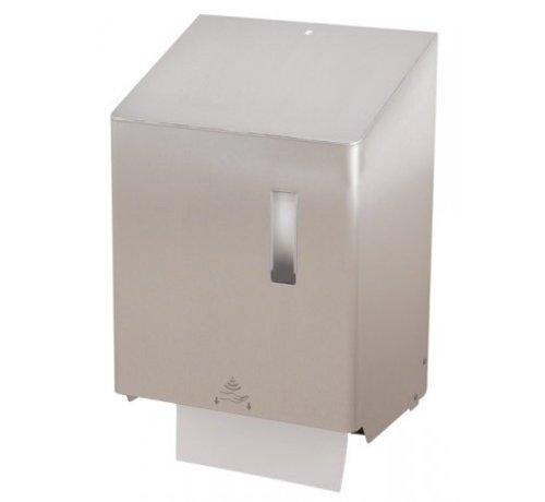 SanTRAL Distributeur de papier essuie-tout grand sans contact