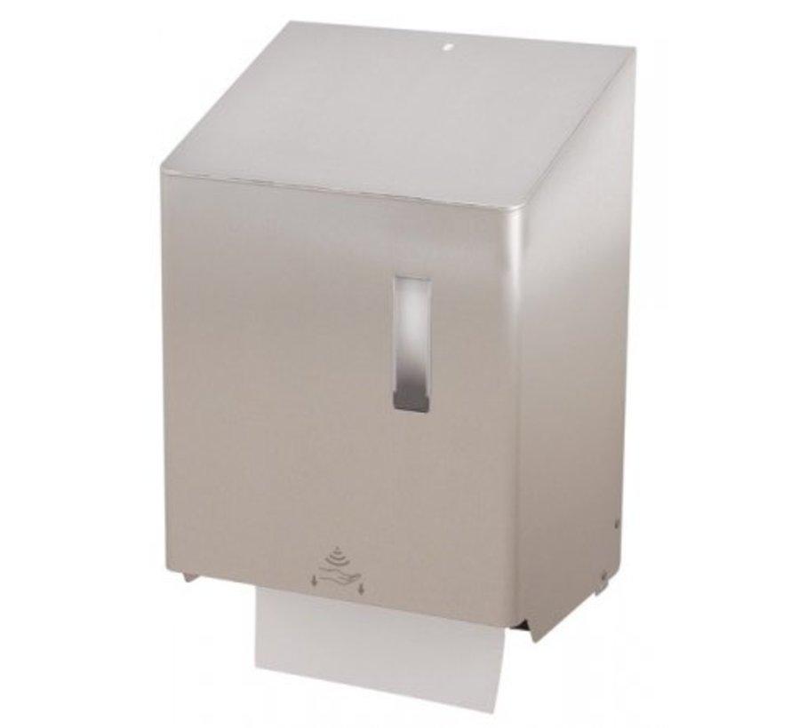 Distributeur de papier essuie-tout grand sans contact