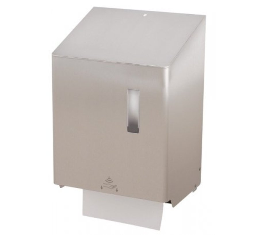 Towel roll dispenser large touchless