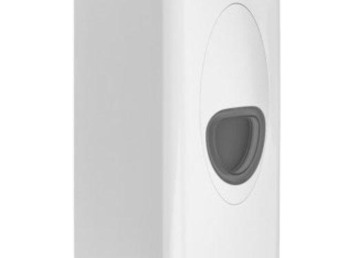 PlastiQline 2020 Soap dispenser 1000 ml plastic refillable white