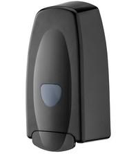 PlastiQline 2020 Zeepdispenser 1000 ml kunststof navulbaar zwart
