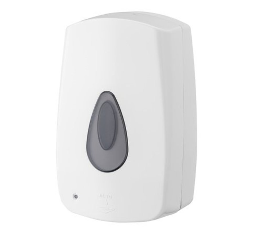 Foam soap dispenser automatic 1200 ml plastic refillable