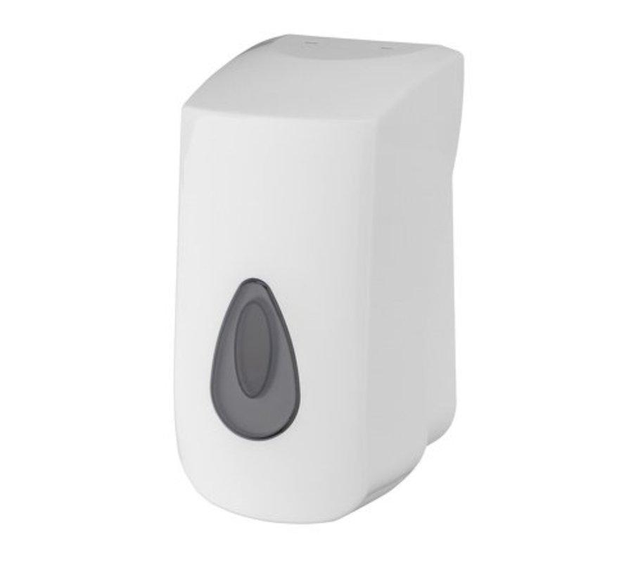 Distributeur de savon mousse 400 ml plastique rechargeable