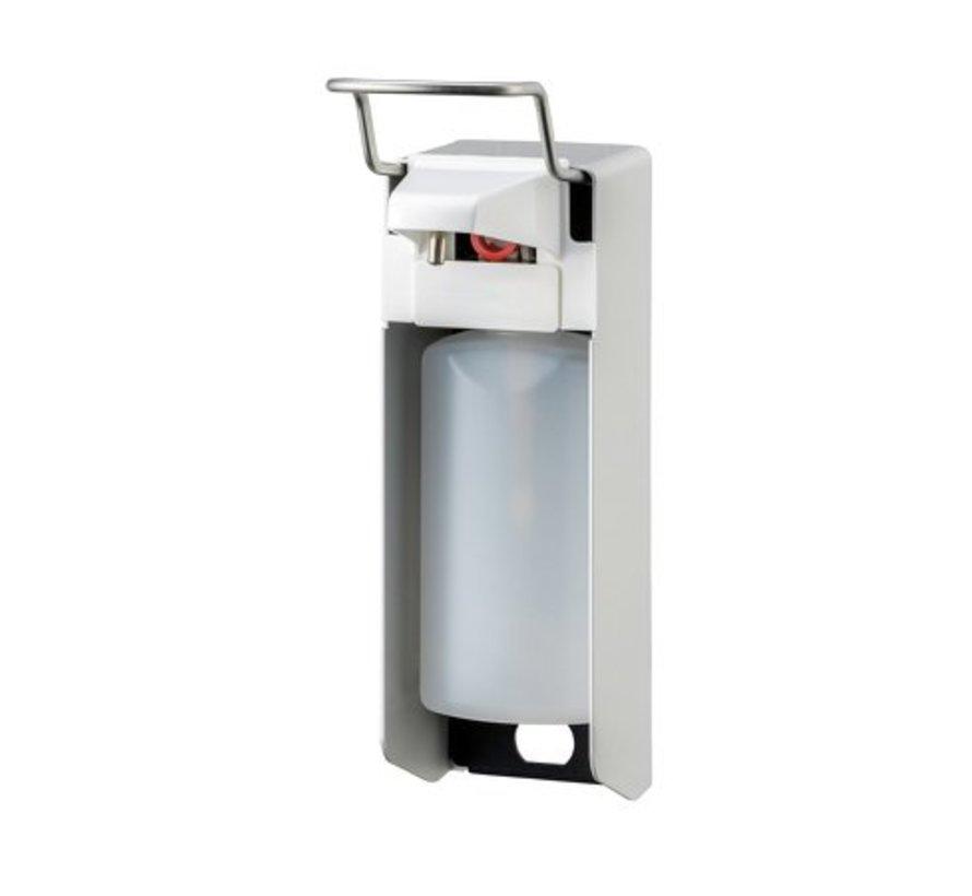 Zeep- & desinfectiemiddeldispenser 500 ml KB aluminium