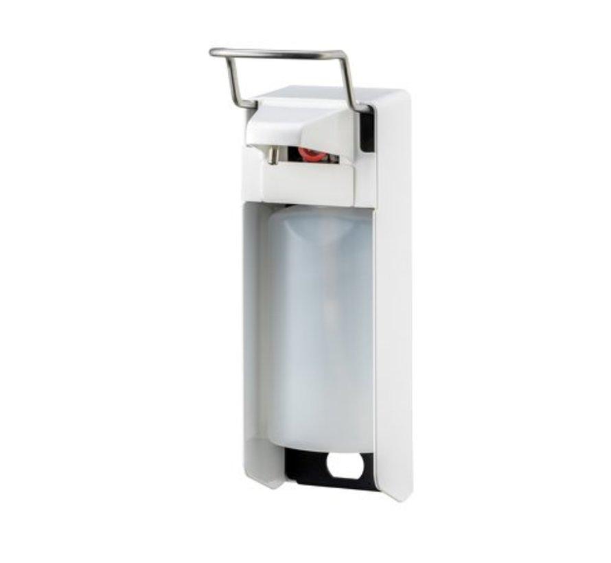 Distributeur de savon et de désinfectant 500 ml KB blanc