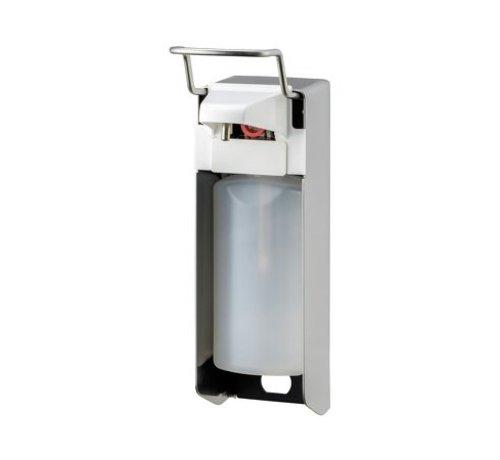 MediQo-line Distributeur de savon et de désinfectant 500 ml en acier inoxydable KB