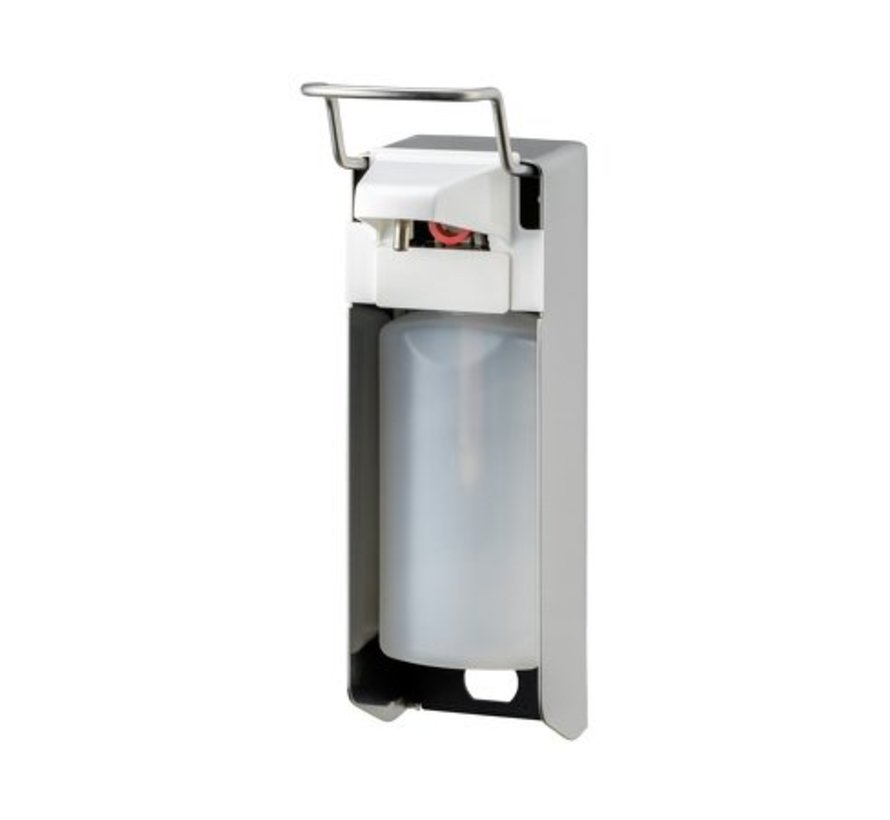 Zeep- & desinfectiemiddeldispenser 500 ml KB RVS