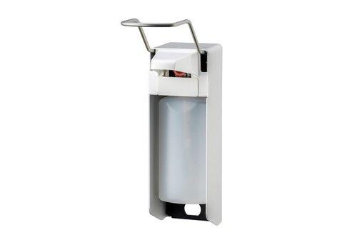 MediQo-line Zeep- & desinfectiemiddeldispenser 500 ml LB aluminium