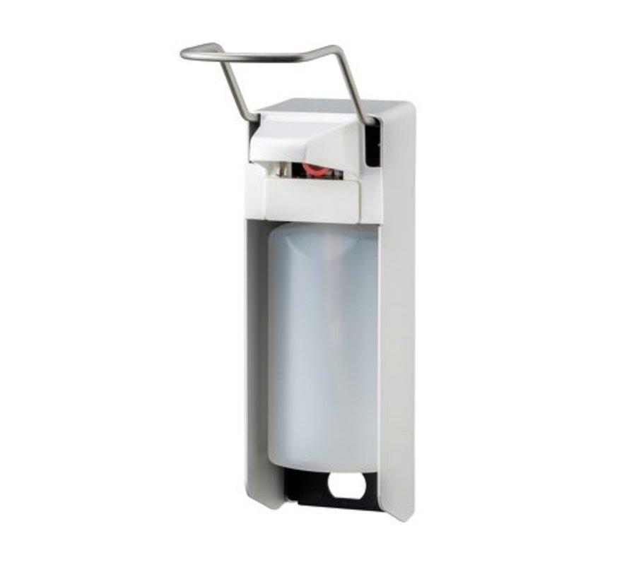 Soap & disinfectant dispenser 500 ml LB aluminum