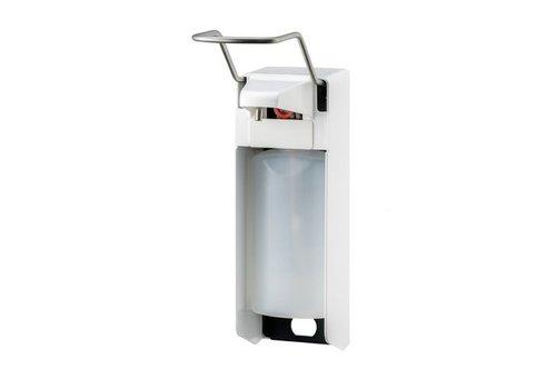 MediQo-line Soap & disinfectant dispenser 500 ml LB white