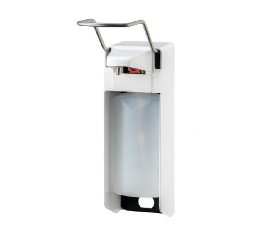 Distributeur de savon et de désinfectant 500 ml LB blanc