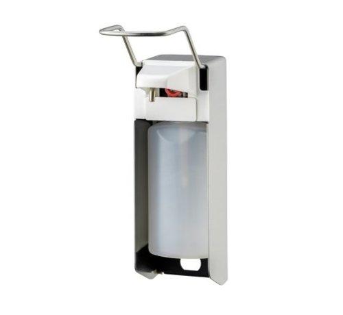 MediQo-line Distributeur de savon et de désinfectant 500 ml LB en acier inoxydable