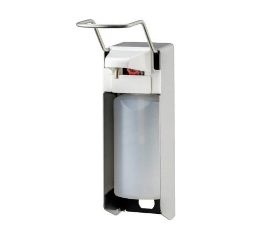 Zeep- & desinfectiemiddeldispenser 500 ml LB RVS