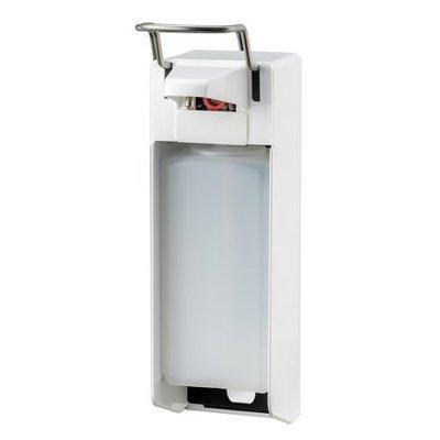 MediQo-line Distributeur de savon et de désinfectant 1000 ml KB blanc