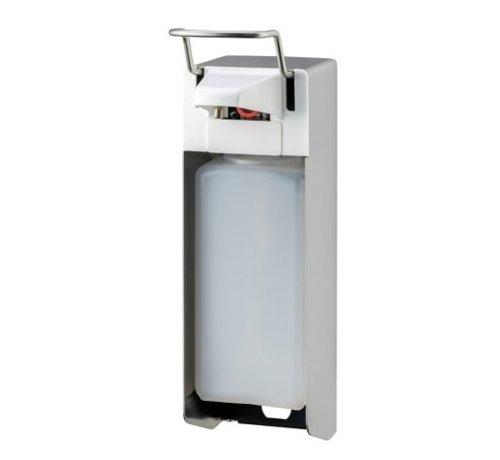 MediQo-line Distributeur de savon et de désinfectant 1000 ml en acier inoxydable KB