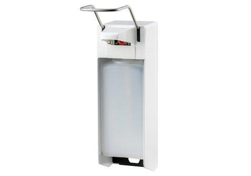 MediQo-line Soap & disinfectant dispenser 1000 ml LB white