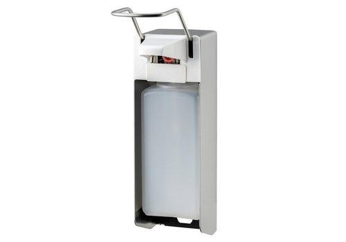 MediQo-line Zeep- & desinfectiemiddeldispenser 1000 ml LB RVS