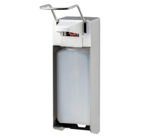 MediQo-line Distributeur de savon et de désinfectant 1000 ml LB en acier inoxydable