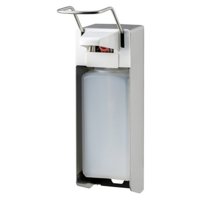 Distributeur de savon et de désinfectant 1000 ml LB en acier inoxydable