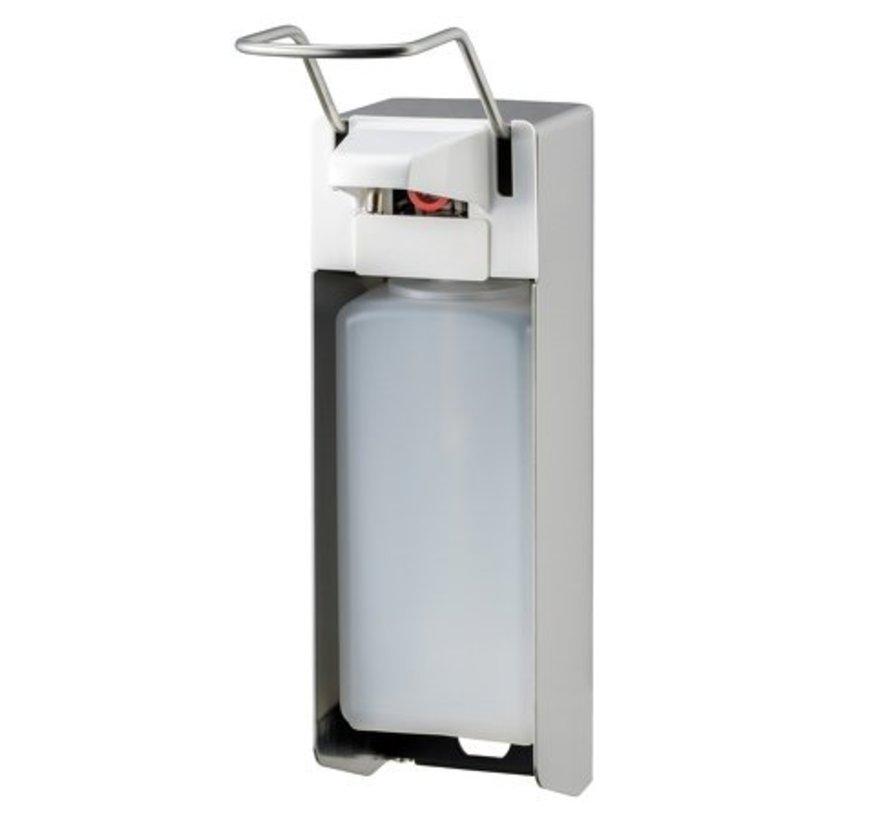 Zeep- & desinfectiemiddeldispenser 1000 ml LB RVS