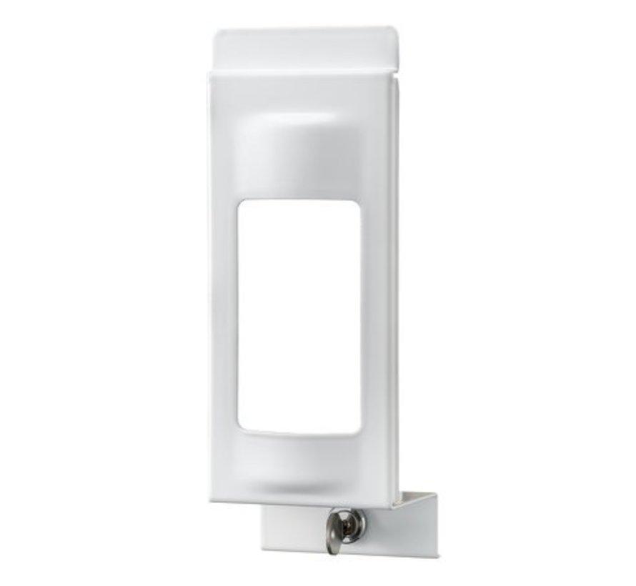 Plaque de fermeture blanche 1000 ml