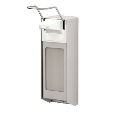 MediQo-line Distributeur de savon garage 1000 ml aluminium
