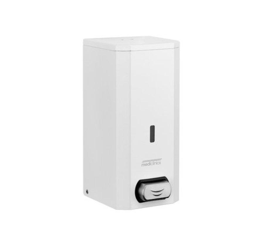 Distributeur de savon en acier inoxydable blanc 1500 ml