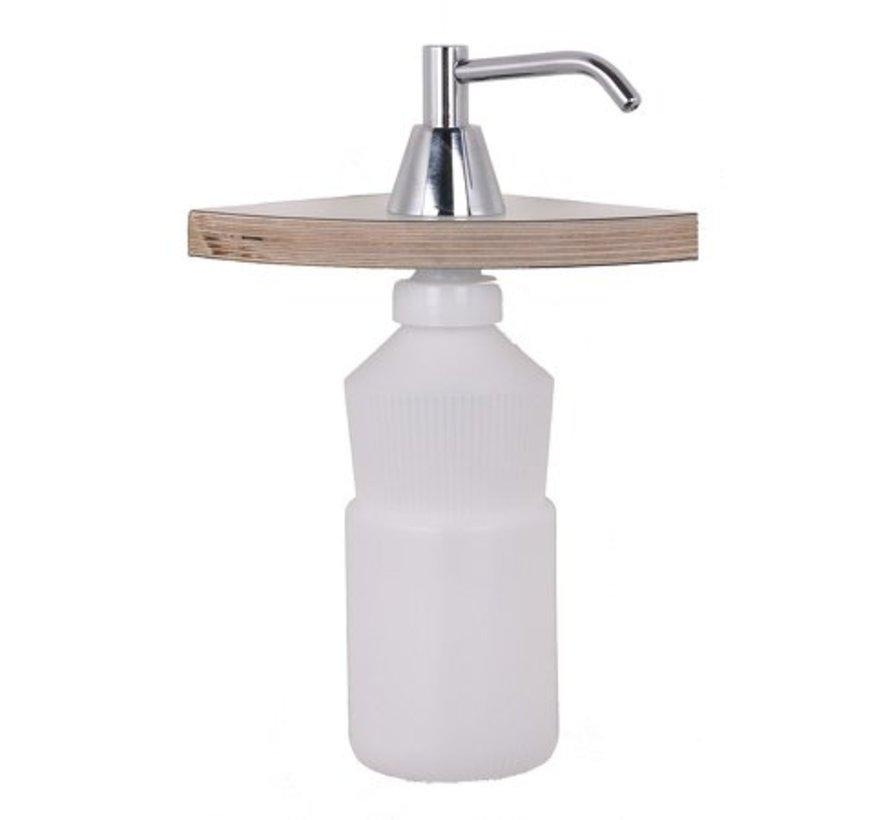 Built-in soap pump 950ml