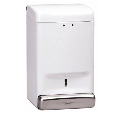 Mediclinics Distributeur de savon 1100 ml blanc