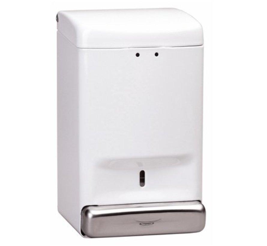 Distributeur de savon 1100 ml blanc