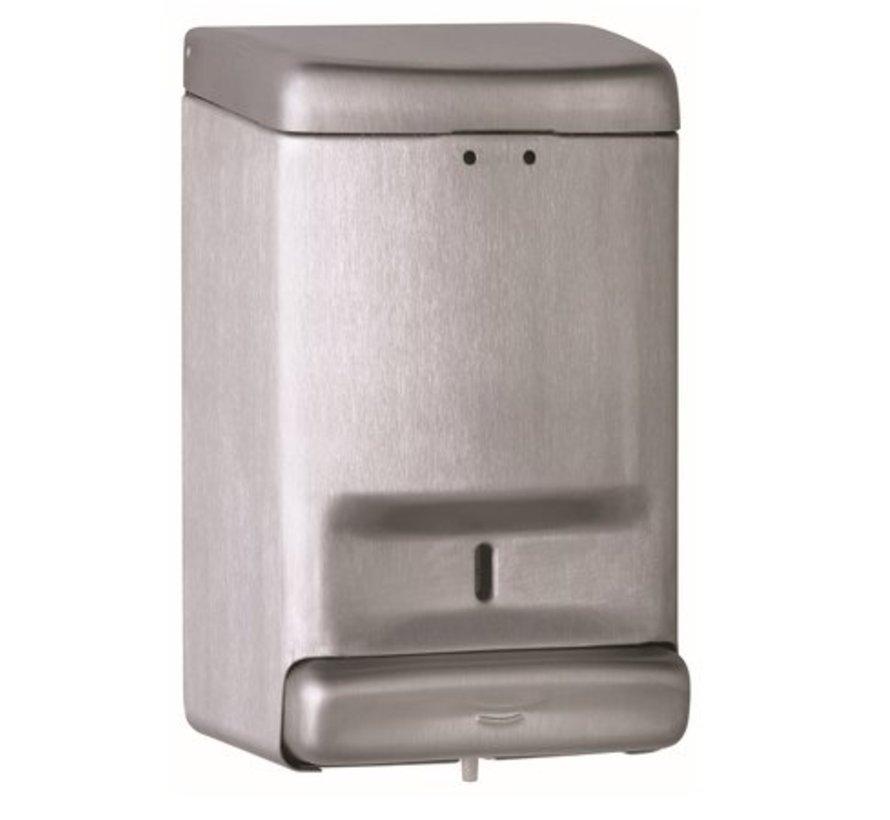 Distributeur de savon 1100 ml en acier inoxydable