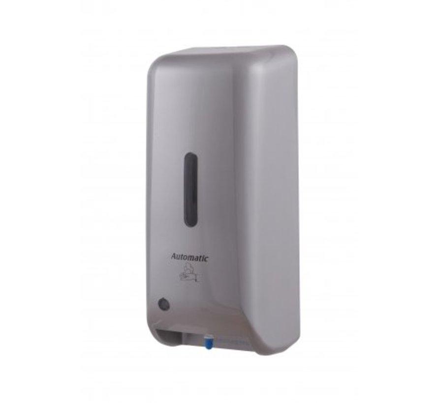 Distributeur de savon mousse aspect plastique inox automatique