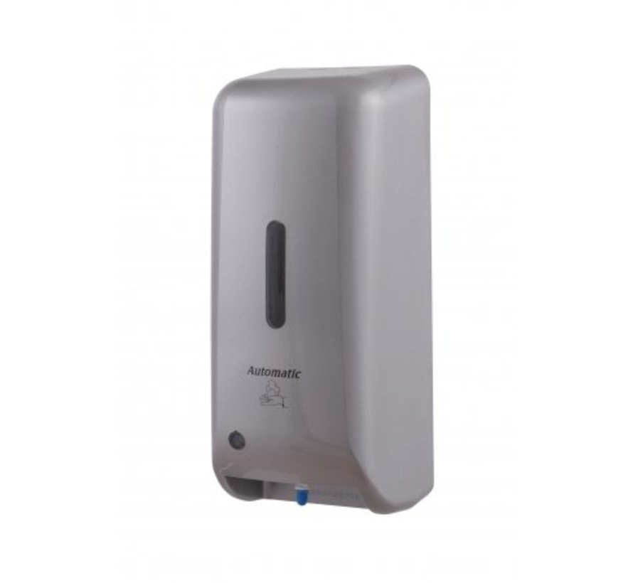 Foam soap dispenser automatic plastic stainless steel look