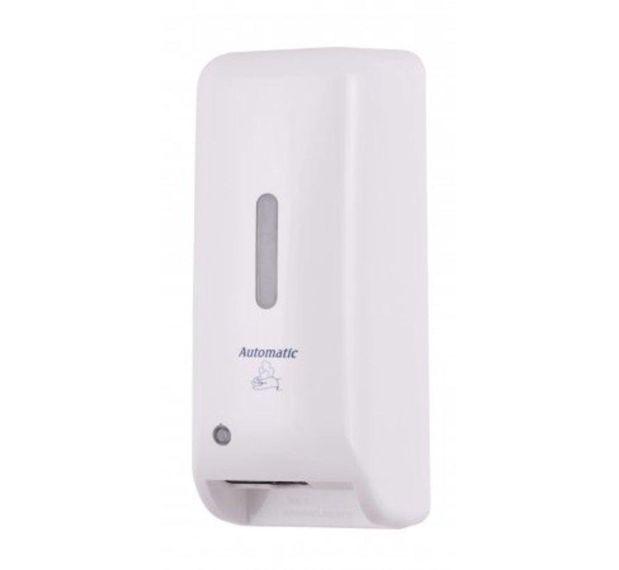 Distributeur de savon automatique en plastique blanc