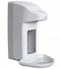 MediQo-line Zeep- & desinfectiemiddeldispenser automatisch 500 ml kunststof