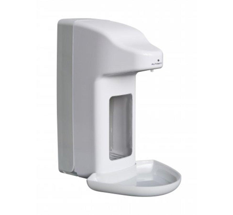 Zeep- & desinfectiemiddeldispenser automatisch 1000 ml kunststof