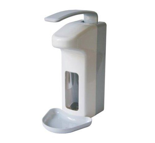 MediQo-line Distributeur de savon et de désinfectant 500 ml de plastique LB