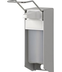 MediQo-line Soap & disinfectant dispenser 500 ml LB aluminum - ingo-man version