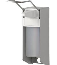 MediQo-line Zeep- & desinfectiemiddeldispenser 500 ml LB aluminium - ingo-man versie