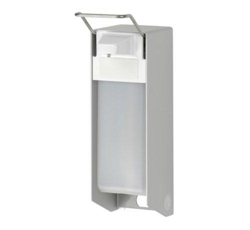 MediQo-line Zeep- & desinfectiemiddeldispenser 500 ml KB aluminium - ingo-man versie