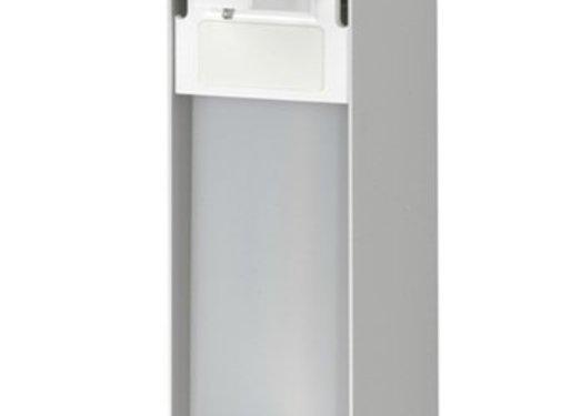 MediQo-line Soap & disinfectant dispenser 500 ml KB aluminum - ingo-man version