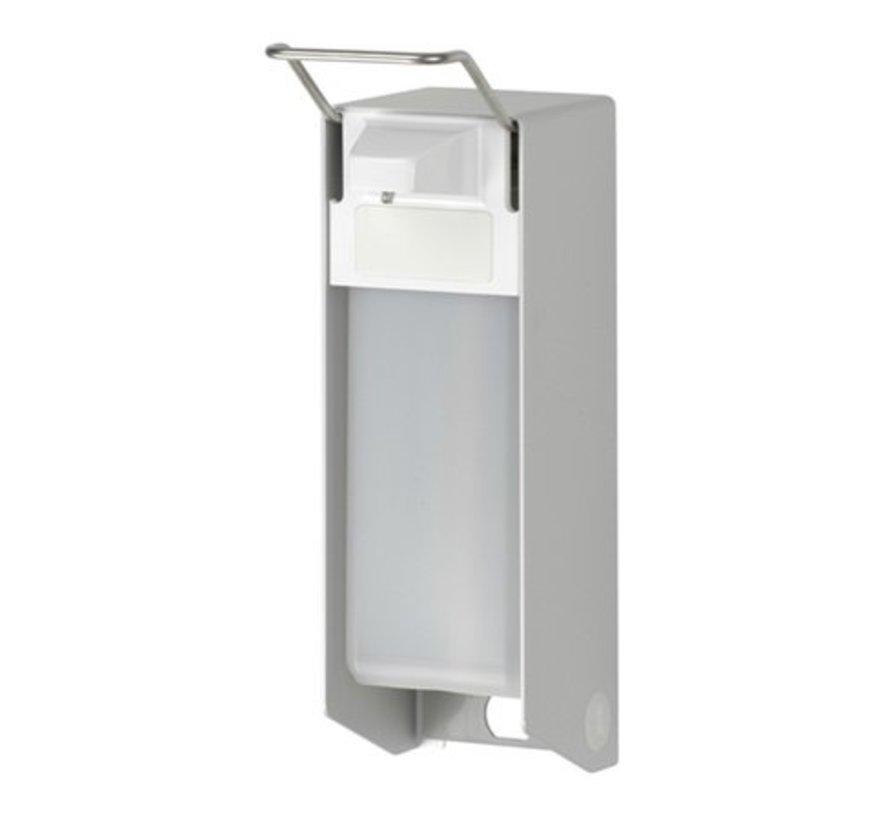 Zeep- & desinfectiemiddeldispenser 500 ml KB aluminium - ingo-man versie