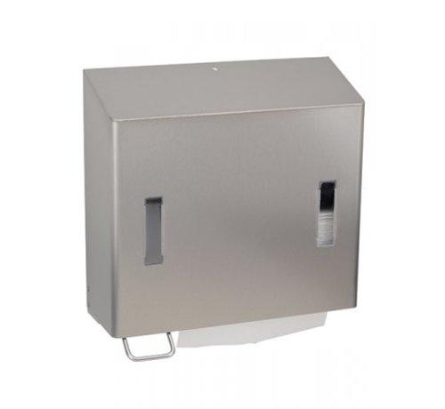 SanTRAL Distributeur combiné de savon et serviettes