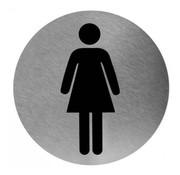 Mediclinics Pictogramme Femme Inox