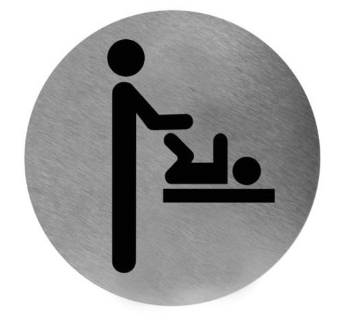Mediclinics Icon diaper change stainless steel
