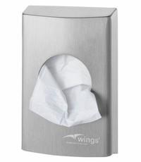 Wings Hygiënezakjesdispenser (plastic)