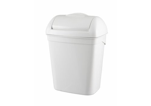 PlastiQline  Hygiënebak 8 liter kunststof wit