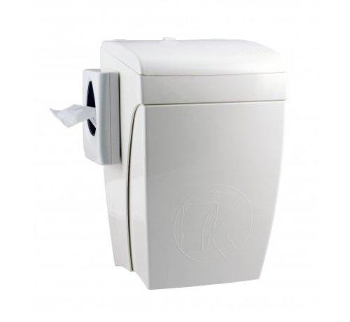 PlastiQline  Hygiene tray with knee operation 8 liters