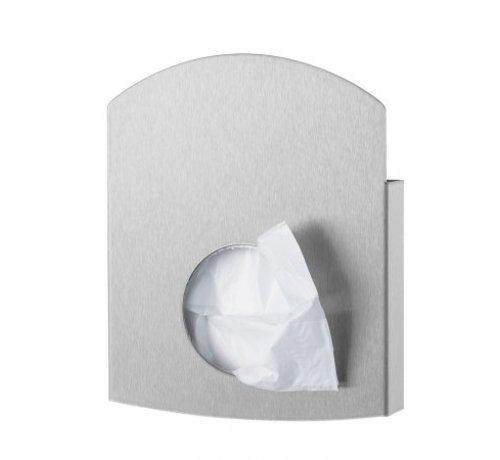 PlastiQline Exclusive Hygienic bag holder stainless steel