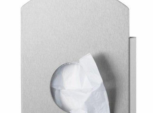 PlastiQline Exclusive Porte sac hygiénique en acier inoxydable